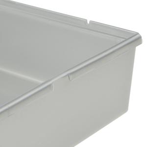 Sistema modulare Organizer per cassetto Trasparente e Flessibile Prodotto in Svizzera Misure 38 x 15 cm Rotho 7885.94 Organizzatore per cassetto in plastica