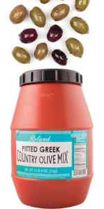 pitted country olive mix;greek olive mix;black olives Greek;black olives kalamata;country mix olive