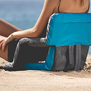stadium bleacher portable beach game travel backpack seat chair cushion sporting events camping