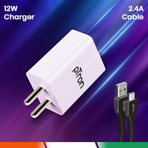 2.4A power adapter