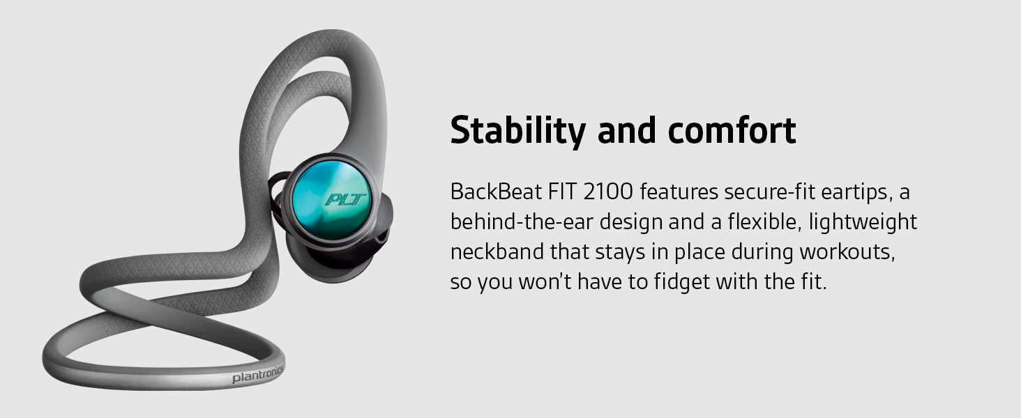 backbeat fit 2100, plantronics backbeat fit, bluetooth earbuds, bluetooth running