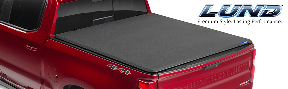 Amazon Com Lund Genesis Elite Tri Fold Soft Folding Truck Bed Tonneau Cover 95872 Fits 2009 2014 Ford F 150 5 7 Bed 67 Automotive