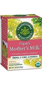 Traditional Medicinals Organic Mother's Milk Women's Tea