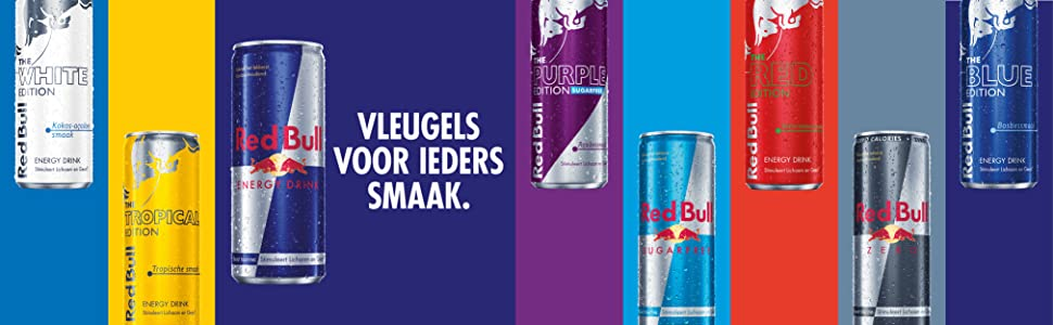 Red Bull; Vleugels voor iedere smaak