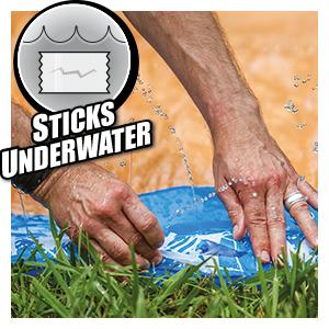Sticks Underwater