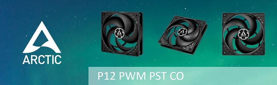 Arctic P12 PWM PST CO case fan