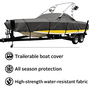 StormPro Ski & Wakeboard Tower Boat Cover