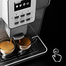 Cecotec Cafetera PowerMatic-ccino 6000 Serie Bianca, Mecánica + ...