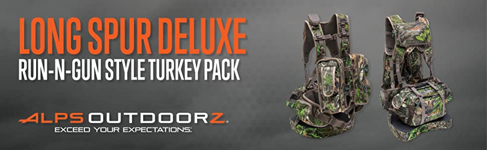 fb652b791228e Amazon.com : ALPS OutdoorZ NWTF Long Spur Deluxe Hunting Vest, Mossy ...