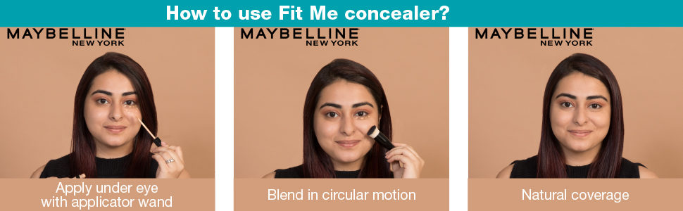 Maybeline fit me concealer