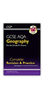 GCSE AQA Geography Complete Revision and Practice