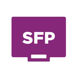Puertos SFP de fibra dedicados