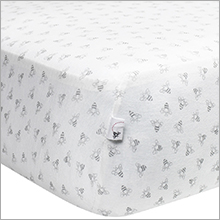 Organic Jersey Knit Crib Sheets Burt's Bees Baby Sleep