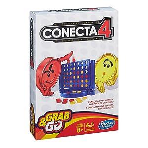 Hasbro Gaming - Juego de Viaje Conecta 4 (Hasbro Spain B1000175 ...