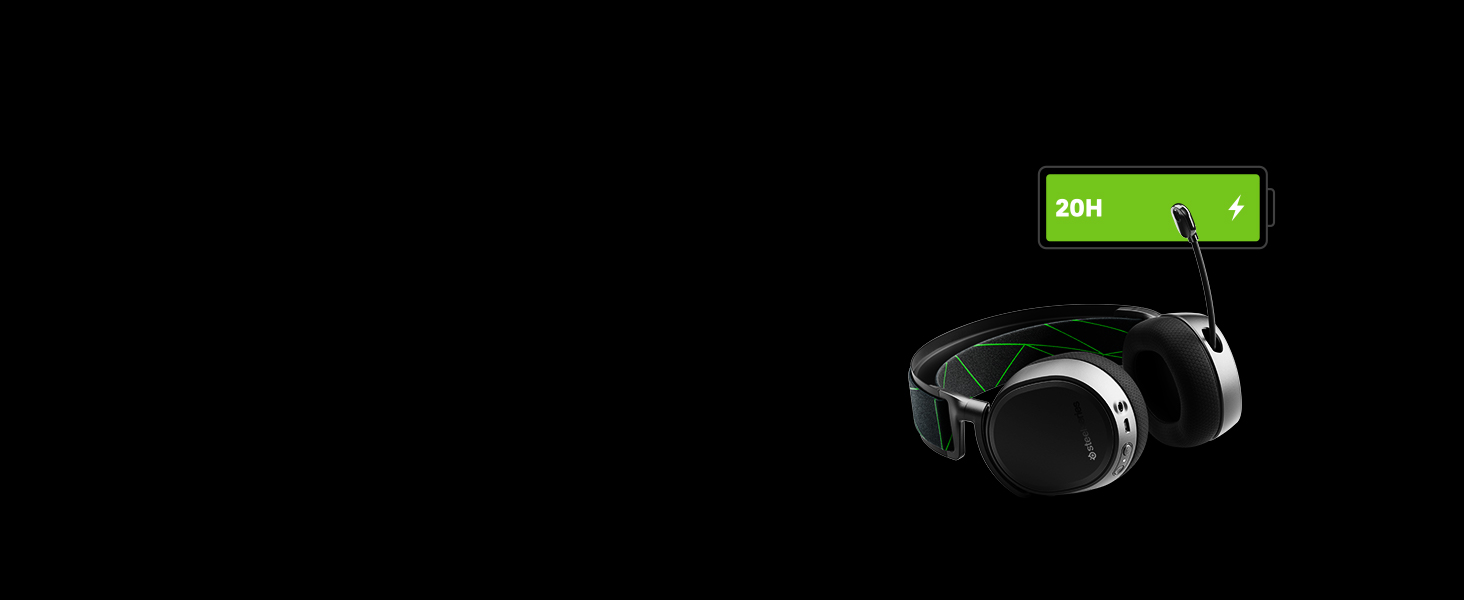 -Arctis9X -headset -battery