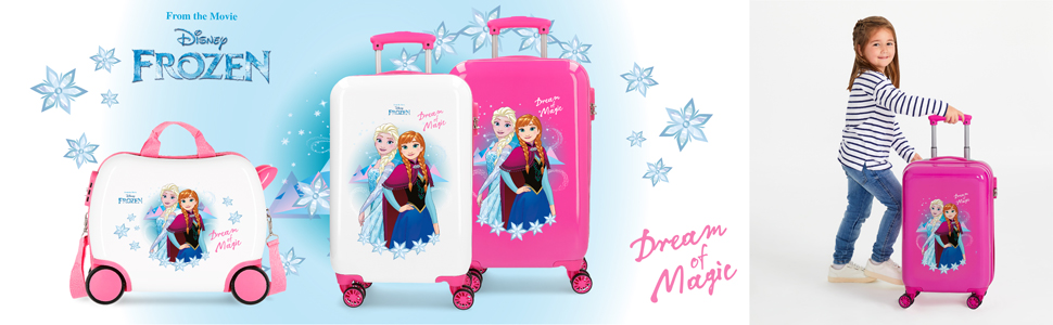 Maleta correpasillos Frozen Dream of Magic