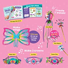 klutz jr., preschool, fairy wands and wings, dress up, pretend, arts and crafts