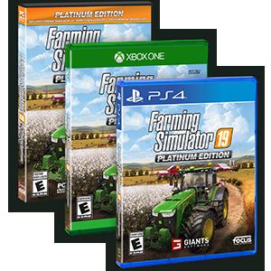 Amazon Com Farming Simulator 19 Platinum Edition Xb1 Xbox One Maximum Games Llc Video Games