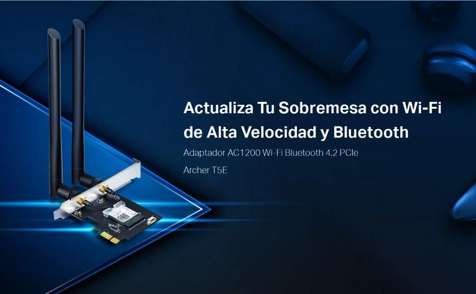 Tp Link Wlan Netzwerkkarte Mit Bluetooth 4 2 Ac1200 5g Computer Zubehör