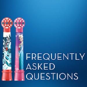 FAQ ORAL-B KIDS TOOTHBRUSH HEADS