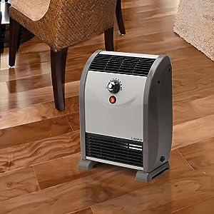 Amazon Com Lasko 5812 Air Flow Heater With Temperature
