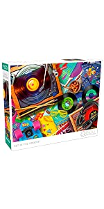 Get in The Groove - 1500 Piece Jigsaw Puzzle