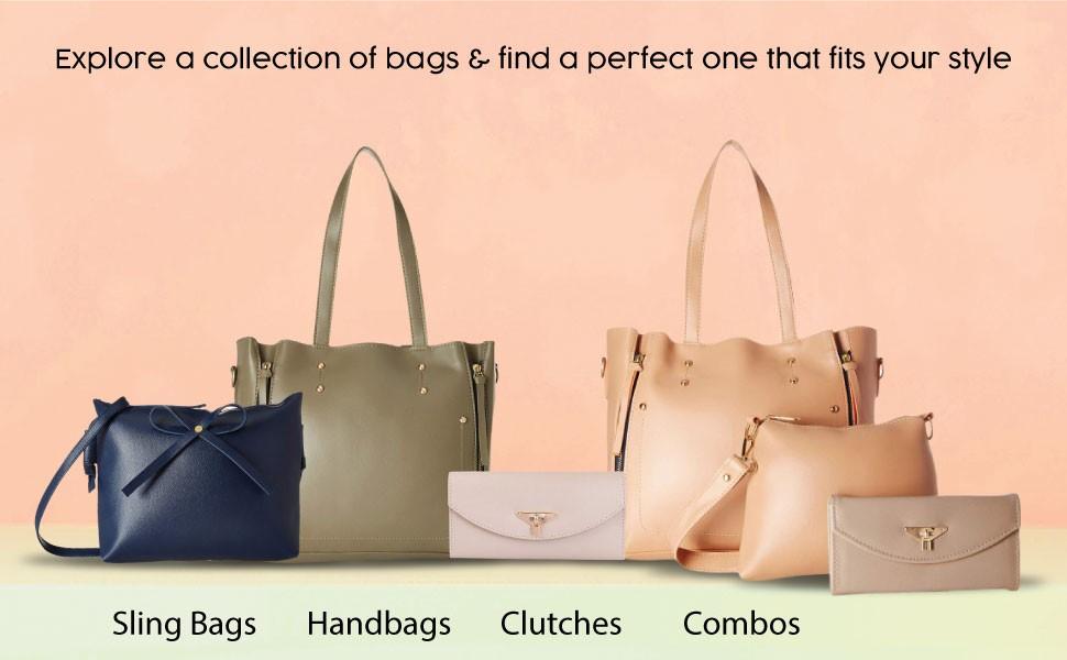 handbags combo 3pc set bags