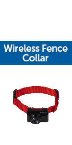 Wireless Fence Collar, Electronic Pet Fence, Pet Containment System