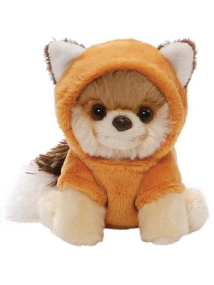 "GUND World's Cutest Dog Boo Itty Bitty #050 Red Fox Stuffed Animal Plush, Multicolor, 5"""