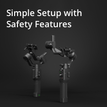 Simple Setup with Safety Features