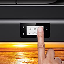 Touch screen with intuitive controls