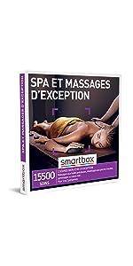 Spa et massages d'exception coffret box cadeau Smartbox