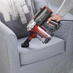 scopa elettrica ariete 2761 handy force aspirabriciole aspira divani tessuti materassi