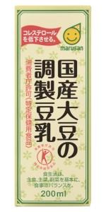国産大豆の調製豆乳200ml