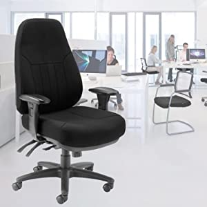 Office Hippo Heavy Duty High Back Office Chair