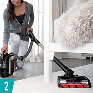 Handheld Vacuum Mode Shark ION P50 Lightweight Cordless Upright HEPA Filter Limestone IC162 DuoClean for Carpet and Hardfloor Cleaning Renewed