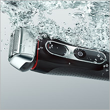 waterproof shaver, waterproof electric shaver, male shaver, electric shaver, best electric shaver
