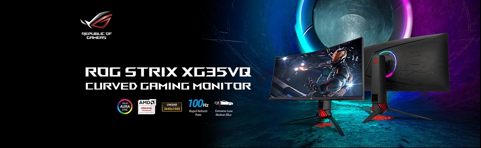 ROG Strix XG35VQ Curved Gaming Monitor