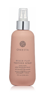 beach play texture spray curly coily wavy hair thick thin fine short textured self preserving papaya