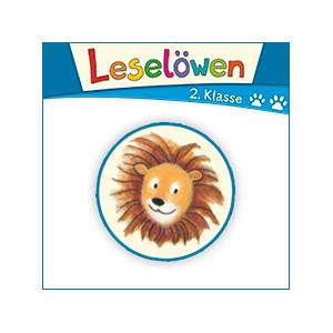 Leselöwen 2. Klasse Logo