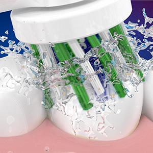 100% meer tandplak verwijderen
