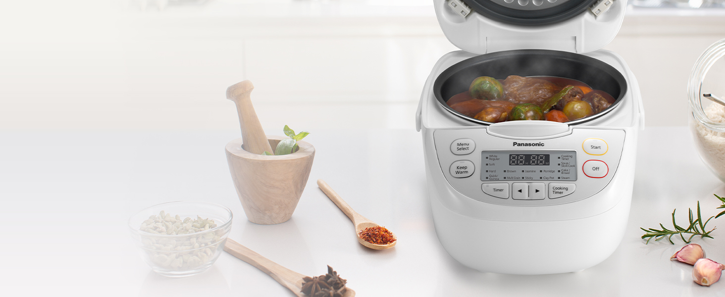 Panasonic SR-CN108 (5-cup uncooked) rice cooker