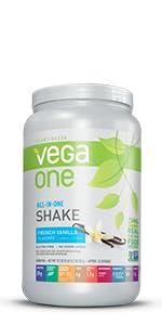 vega one, plant based protein powder