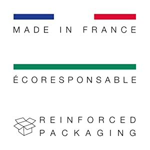 Made in France Francais Ecoresponsable Reinforced packaging