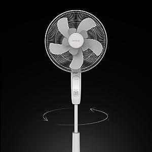 Cecotec Ventilador de pie EnergySilence 1010 ExtremeConnected 10 ...