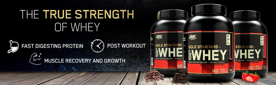 ON Whey Gold Standard, Whey Protein, Optimum Nutrition, 100% Whey Gold Standard, Protein Powder