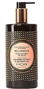 belladonna;body;skincare;wash;cleanser;mor;emporiumclassics