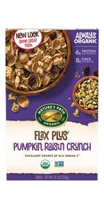 Flax Plus Pumpkin Raisin Crunch