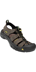 mens sandals closed-toe leather water beach casual durable hiking