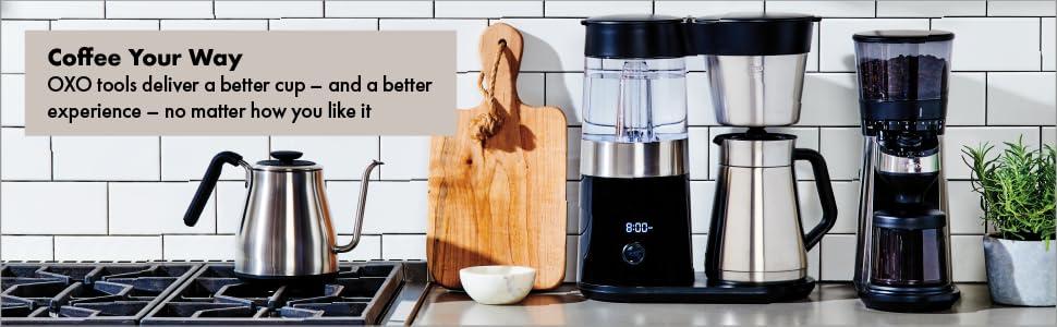 0fe388fec Amazon.com: OXO On Barista Brain 9 Cup Coffee Maker: Kitchen & Dining